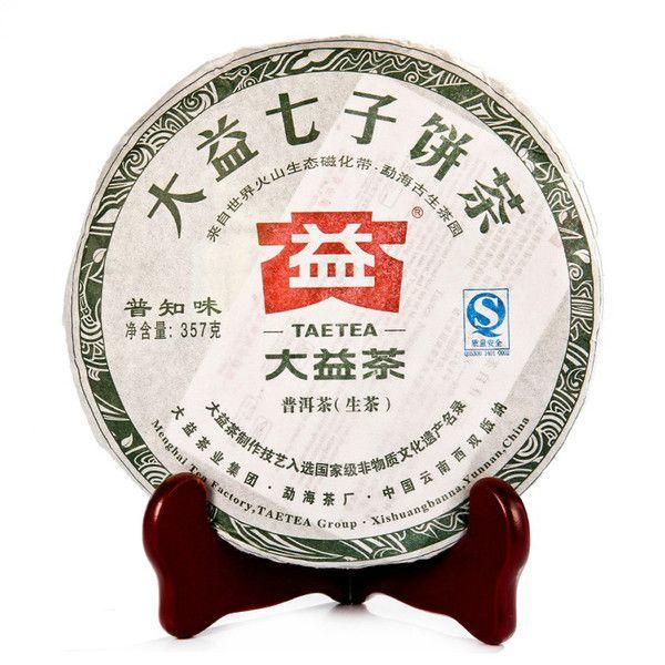 картинка Пу Чжи Вэй 普知味 (102 серия). Чайная фабрика Мэнхай. Шен пуэр 2012 года…