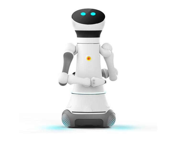 Serviceroboter Care-O-bot gestaltet von Phoenix Design für Fraunhofer IPA