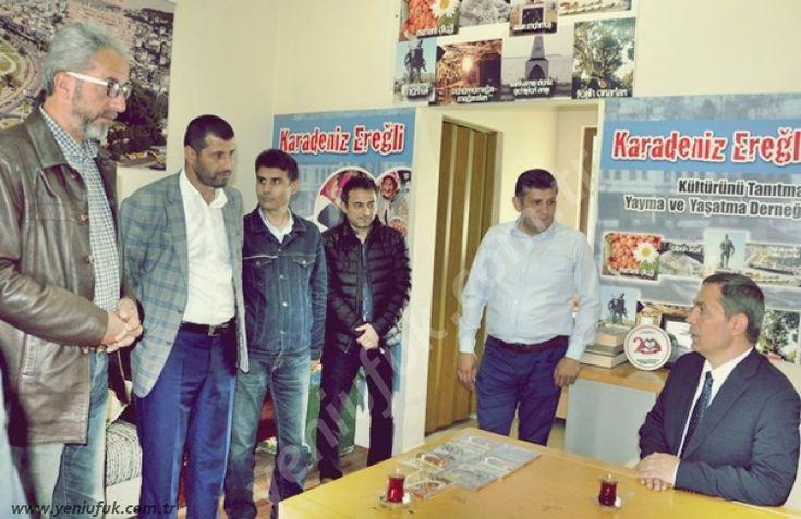 Karadeniz Ereğli Belediye Başkanı Hüseyin Uysal, Osmanlı Çileği Kültür ve Sanat Şenlikleri kapsamında Yöresel Evleri ziyaret etti.
