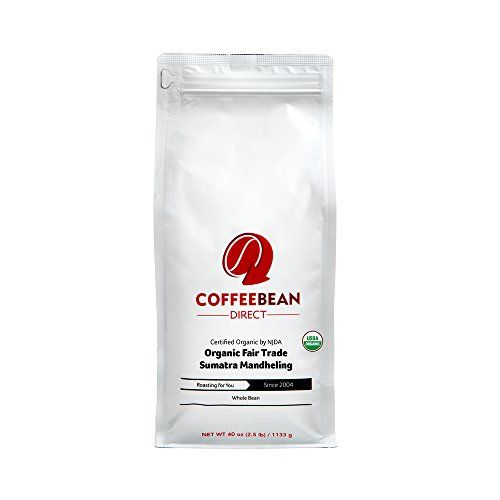 Coffee Bean Direct Organic Fair Trade Sumatra Mandheling 25 Pound >>> Read more reviews of the product by visiting the link on the image.