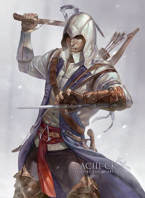 ratonhnhaketon assassins creed 3 - photo #34