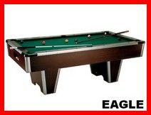 Le billard Eagle pour votre salle de jeux