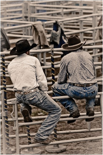 There's something about cowboys that scream romance isn't there :)