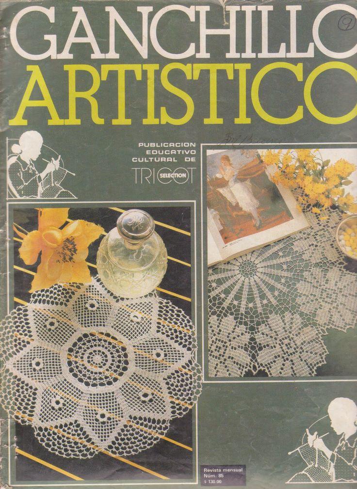 Artistico Ganchillo №85 1983 s 1 of 24