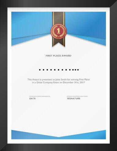 Free Certificate Template by Hloom THAMBATSHIRA Certificate
