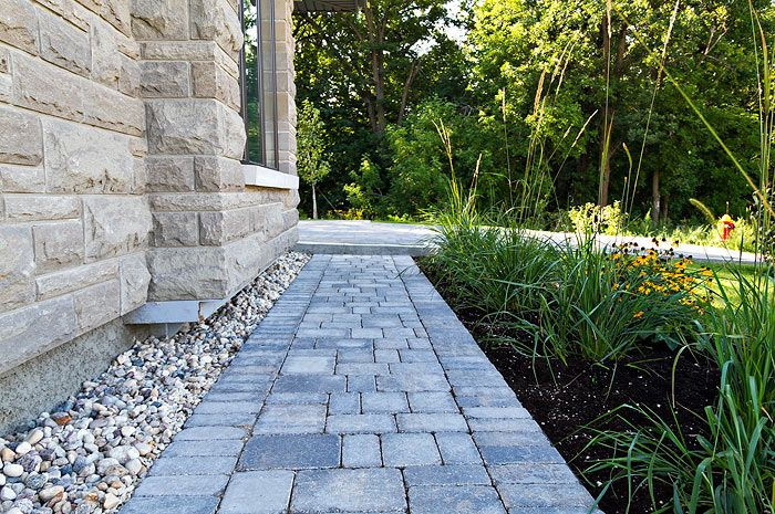 Sierra Grey Roman Paver Walkway For The Cottage