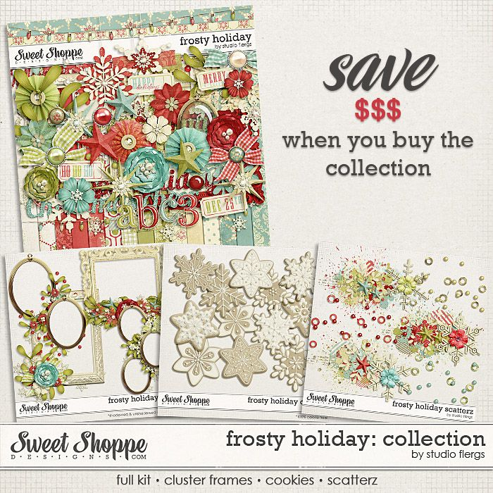 Frosty Holiday: COLLECTION by Studio Flergs