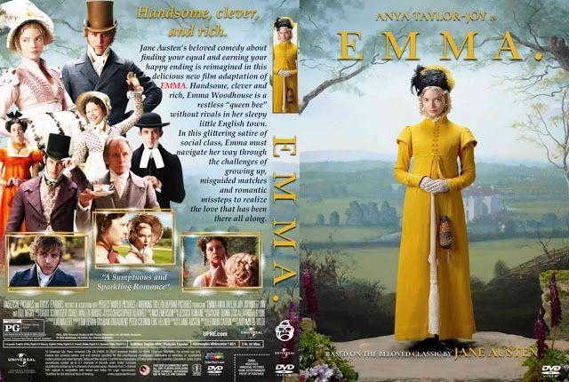 Emma Dvd Cover Dvd Covers Movie Blog Film Adaptations