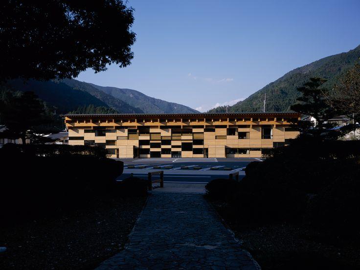 Yusuhara Town Hall 2006 | kengo kuma and associates