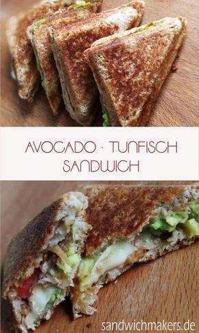 Lecker und GESUND! Sandwichmaker Rezept mit AVOCADO.  – Essen
