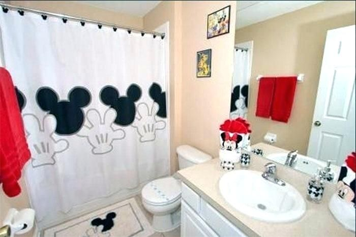 Mickey Mouse Bathroom In 2020 With Images Mickey Mouse