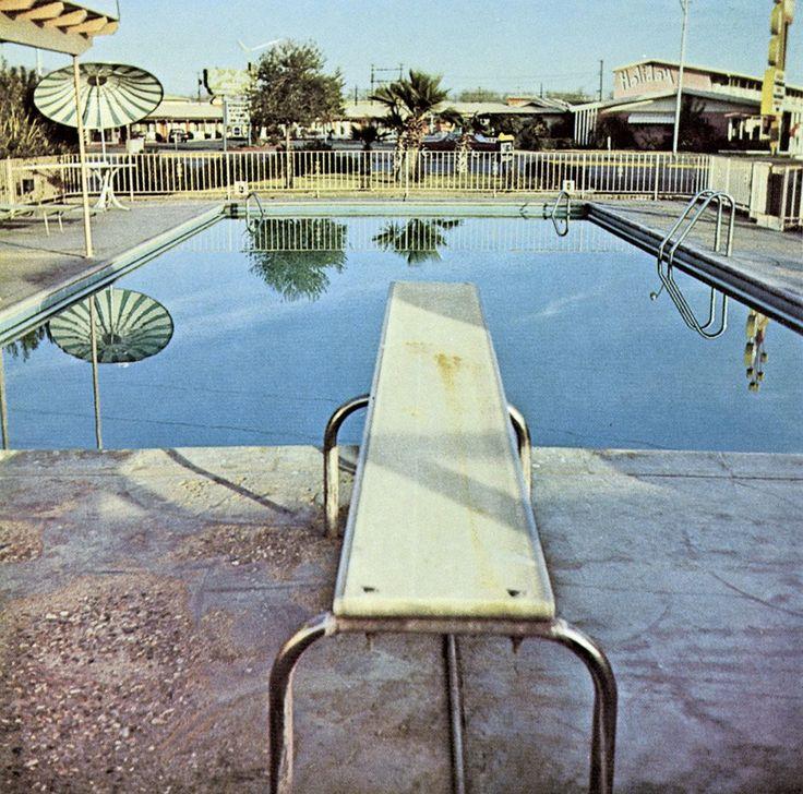 Ed Ruscha - Nine Swimming Pools and a Broken Glass, 1971