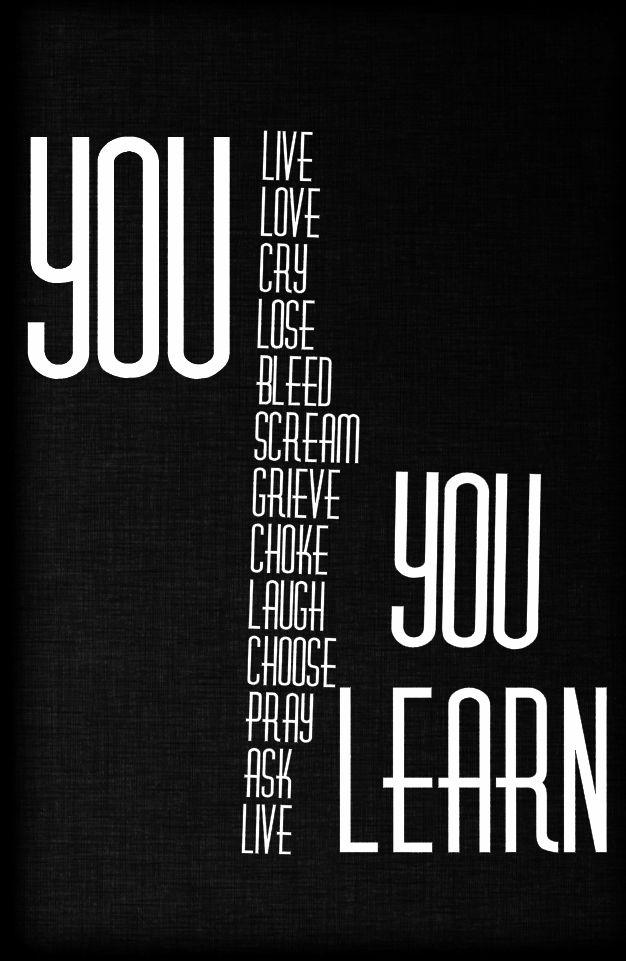 Letra traducida de you learn alanis