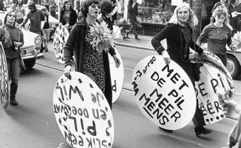 Vrouwenemancipatie in Nederland, werden Dolle Mina's genoemd
