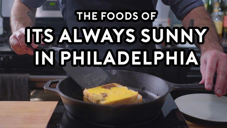 Binging With Babish Prepares Milk Steak and Riot Juice in an It's Always Sunny in Philadelphia Special