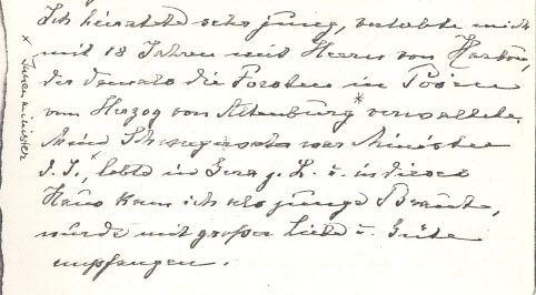 """""""Cloti"""" über den Beginn ihrer Ehe mit """"Herrn von Harbou"""" ... Arbeit an """"der"""" Harbou-Biografie, die irgendwie überfällig ist!"""