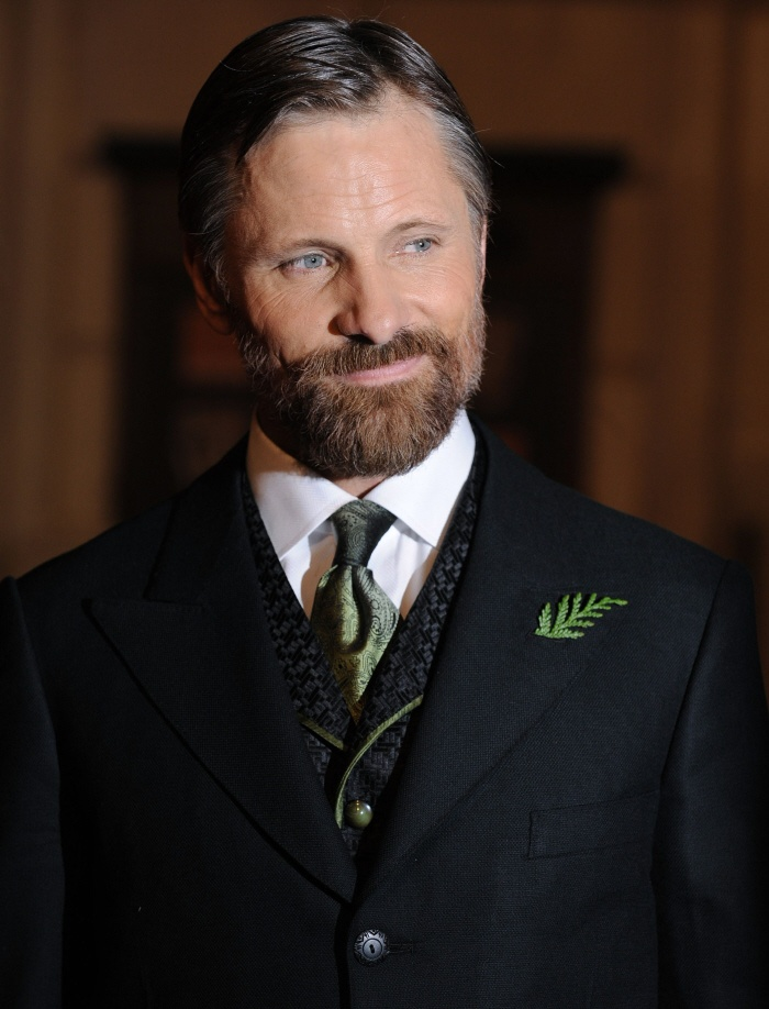 Viggo Mortensen. Aging very well I must say....