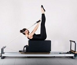 Pilates  reformer with box