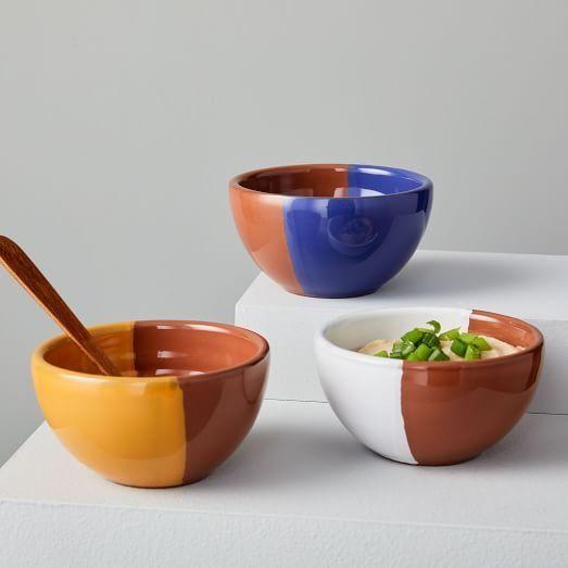 Duo Glaze Bowls Set Of 3 In 2019 Modern Dinnerware Bowl Set