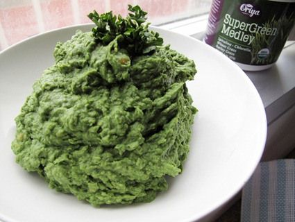 St. Paddy's Day Green Monster Dip from @Matty Chuah veggie nook