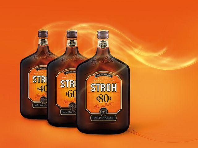 Stroh Rum -- oh, yeah -- this is potent stuff! great flavor.
