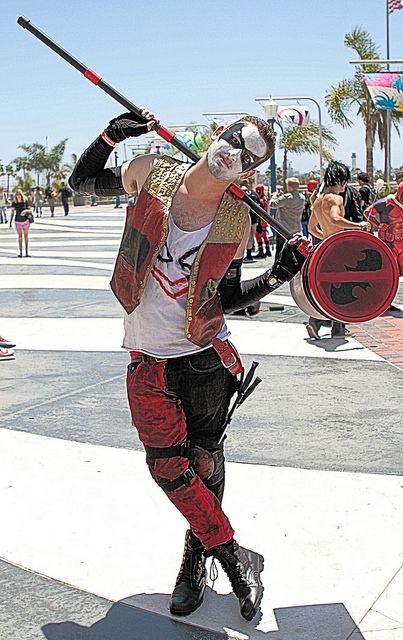 Male Harley Quinn at Long Beach Comic Expo 2014