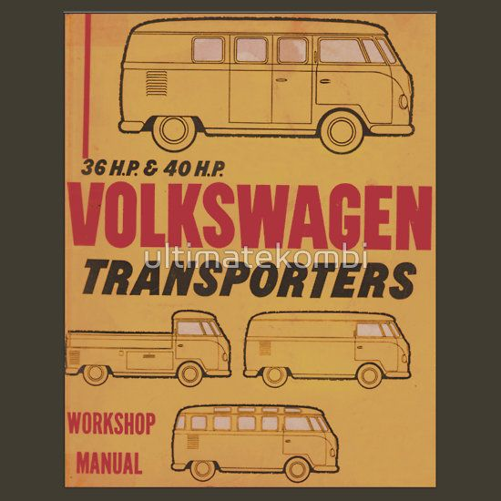 44 best vw manuals images on pinterest vw beetles vw bugs and volkswagen kombi workshop manual fandeluxe Gallery