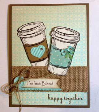 "Perfect Blend is a neat little stamp set that hits the Retired Pile June 2, 2015 Great sentiments for this specialty stamp set...perfect to buy for cards ""just because"" www.lauriel.stampinup.net"