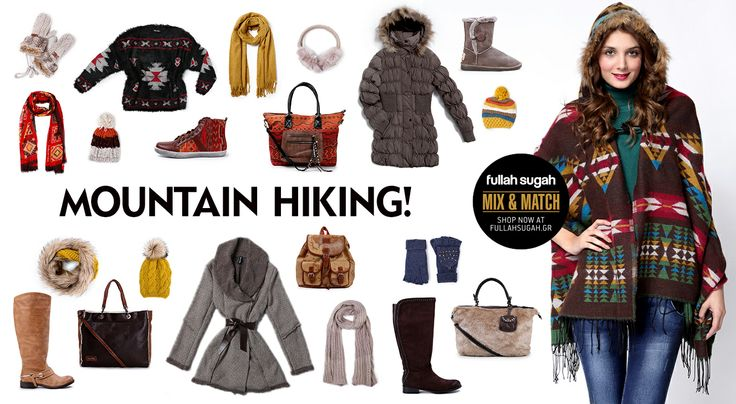 Autumn/Winter 2014 | FULLAHSUGAH MOUNTAIN HIKING MIX N' MATCH | Shop now at: http://fullahsugah.gr