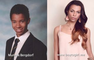 Munroe Bergdorf - Wiki Before And After  Munroe Bergdorf is the transgender model who was fired by L'Oreal. The picture below shows Bergdorf before and after her surgery. Munroe was L'Oreal's first transgender model. She was fired after making remarks about institutional racism. We live in a world where free speech is protected so L'Oreal will definitely lose loyal customers.  In a Facebook rant Munroe claimed that all white people are racist. This was the wrong time for Bergdorf's rant…