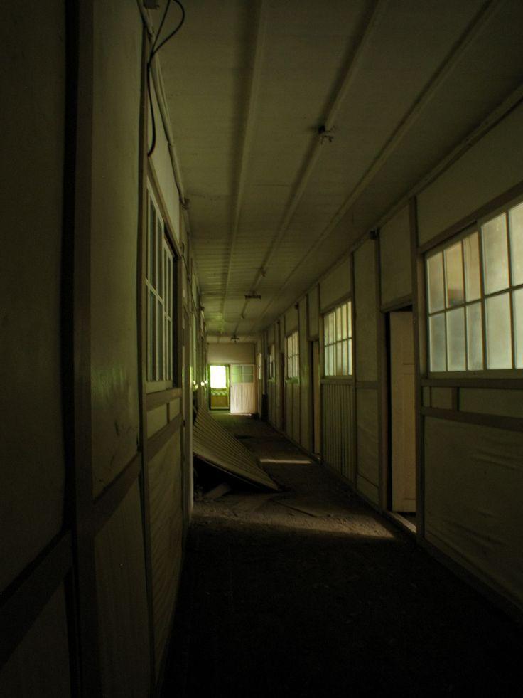An abandoned hospital near Chichibu in Japan... Awesome novel setting!
