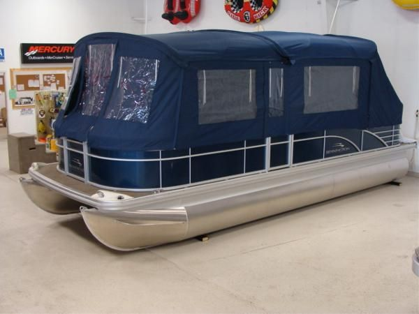 pontoon boat enclosures | Bennington | Boats for sale in ME
