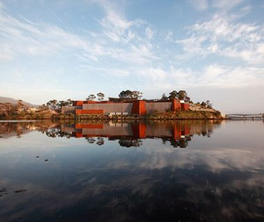 World's Coolest Futuristic Buildings: MONA (Museum of Old and New Art), Tasmania, Australia