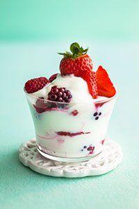 <center>Berries & fromage frais