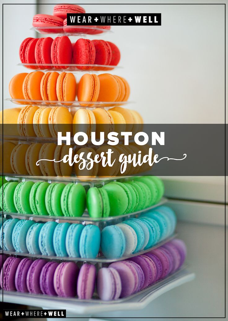 Wear + Where + Well : your guide to Houston's top 10 sweet spots!