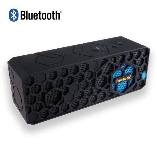 Inateck inalámbrica Bluetooth Portable HiFi Altavoz al aire libre Mini Stereo Speaker Sound System para el iPhone / iPod / iPad / Smartphones Android / HTC One / Samsung Galaxy S3 S4 / portátiles / móviles / dispositivos de reproductor MP3, altavoz con micrófono B00E5XV0Q6 - http://www.comprartabletas.es/inateck-inalambrica-bluetooth-portable-hifi-altavoz-al-aire-libre-mini-stereo-speaker-sound-system-para-el-iphone-ipod-ipad-smartphones-android-htc-one-samsung-galaxy-s3-