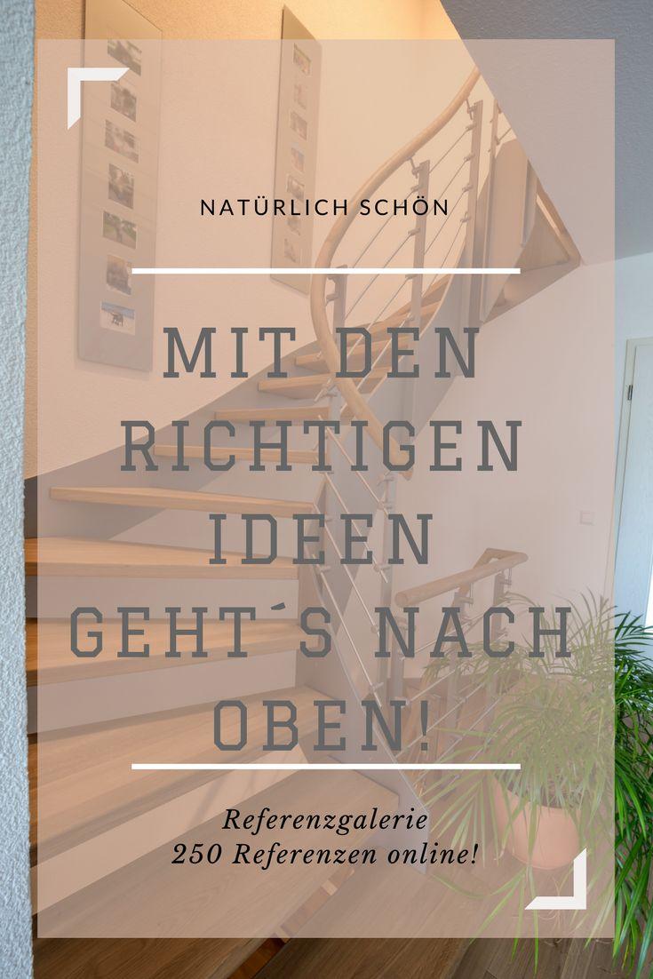 Mit den richtigen Ideen können Sie durch die Decke gehen!  Hier finden Sie Referenzen zu Zimmertüren, Parkettböden und Holztreppen.