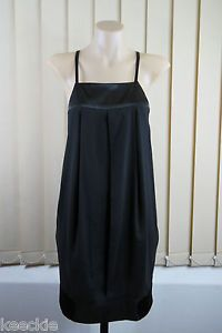 Size 12 M Supre Ladies Black Tunic Dress Chic Cocktail Layer Gothic Event Style | eBay