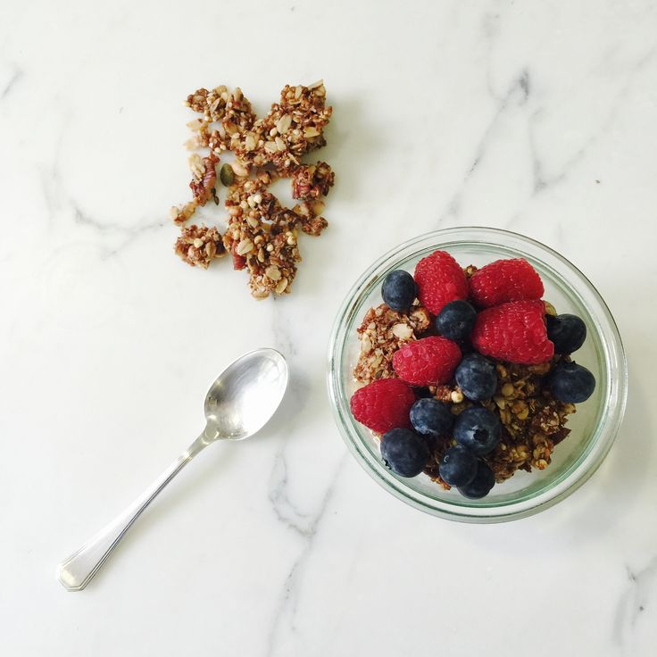 Clean Granola via @goop
