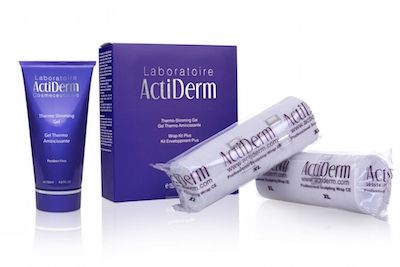 Actiderm Skincare: Thermo Slimming Wrap Kit Plus  https://www.actiderm.co.uk/me/emma-stephens/slimming-inch-loss/