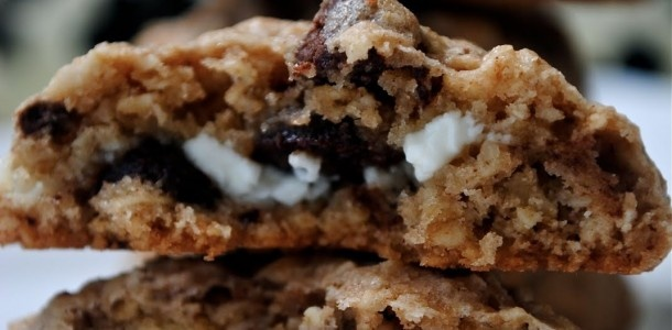 Whoa... goat cheese in a chocolate chip cookie?? This is either the absolute best thing ever or the absolute worst thing ever... I have to try them.