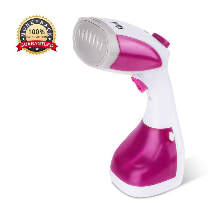 [Upgraded Version]Handheld Clothes Steamer - Travel Portable Garment Steamer with Large Water Tank - 20s Fast Heat-up 1100W Powerful Fabric Steam Iron Perfect for Travel and Home