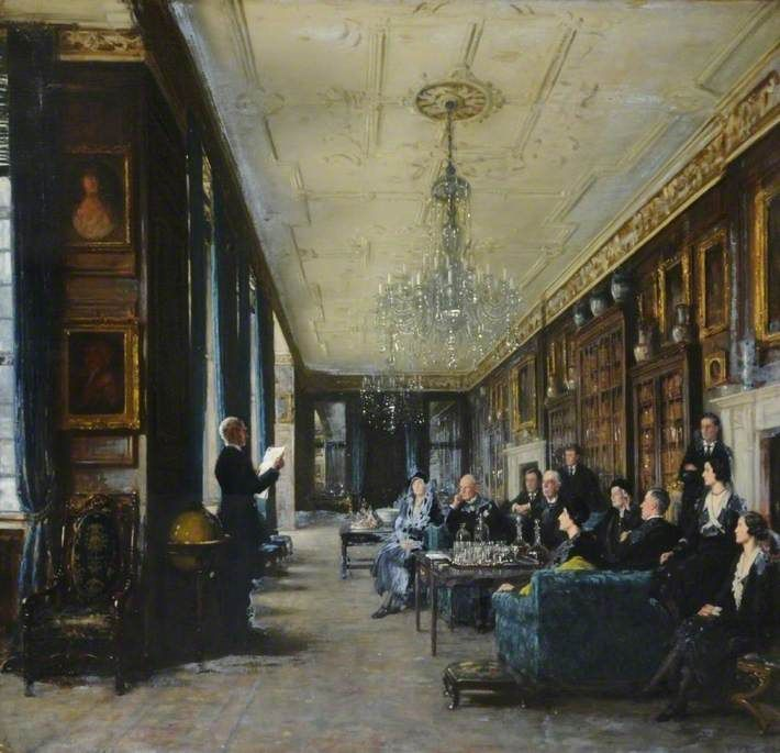 reading the will by frederick william elwell