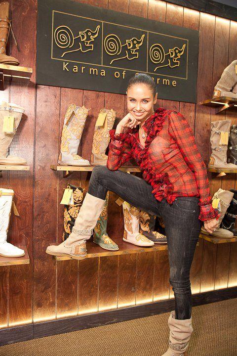 Alcuni scatti con Karma of Charme boots!