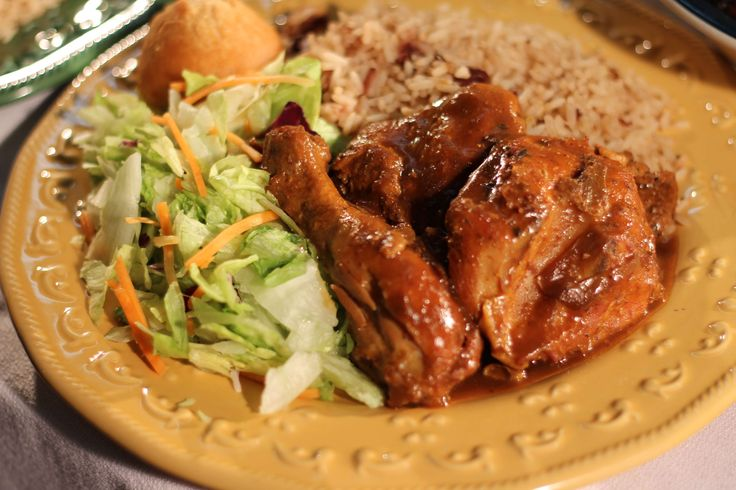 "Caribbean Brown Stewed Chicken or ""Brown Stew Chicken"", an extremely well-seasoned dish is often fall-off-the-bone tender."