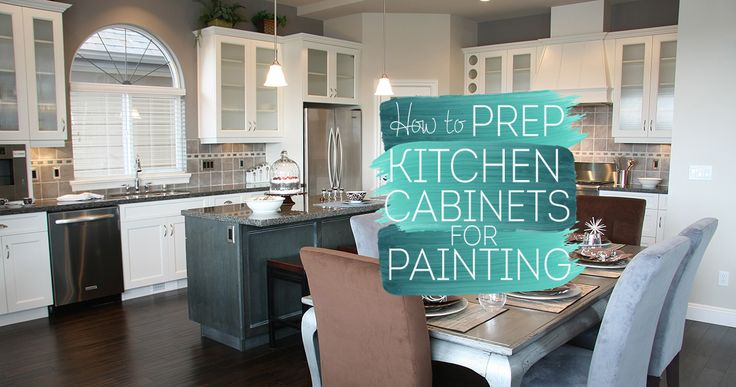 How To Prep Kitchen Cabinets For Painting Sound Finish Cabinet Painting Refinishing Seattle Prep Kitchen Kitchen Cabinets Painting Cabinets