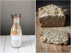 Backmischung für glutenfreies Brot || FOOD VEGETARISCH