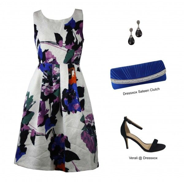 Zumie Floral Party Dress