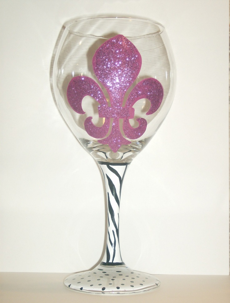 72 best images about painted wine glasses on pinterest for Painted wine glasses with initials