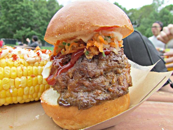 Chori Burger from Jeepney  From Great GoogaMooga in Brooklyn
